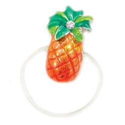 Enamel Pineapple Illusion Toe Ring