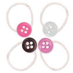 Plastic Button Illusion Toe Ring
